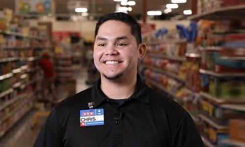 Chris, Lead Overnight Stocker - H-E-B Careers