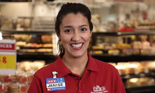 Janise, Food Service Rep - H-E-B Careers